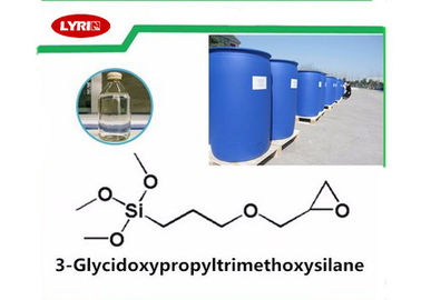 中国 透明な3 Glycidoxypropyltrimethoxysilane KH-560のGlycidoxy Propyl Trimethoxyのシラン 工場